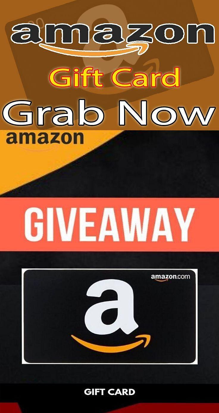 Free amazon gift card giveaway 2020 in 2020 amazon gift