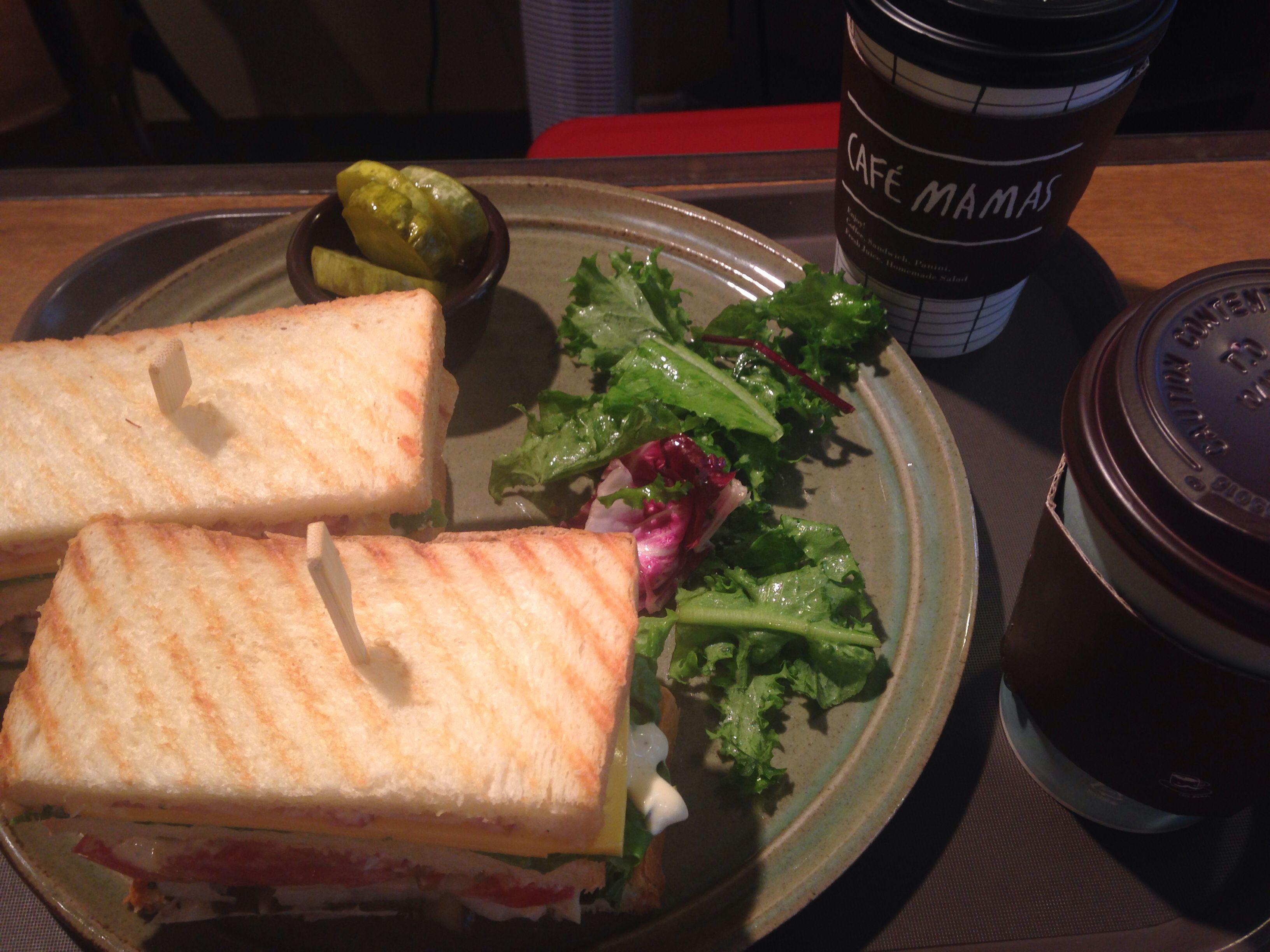 근래 최고로 맛있었던 클럽샌드위치! @카페마마스 여의도점