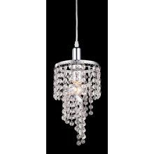View the Z-Lite 51042 Petite 1 Light 1 Tier Chandelier with Crystal Shade at LightingDirect.com.