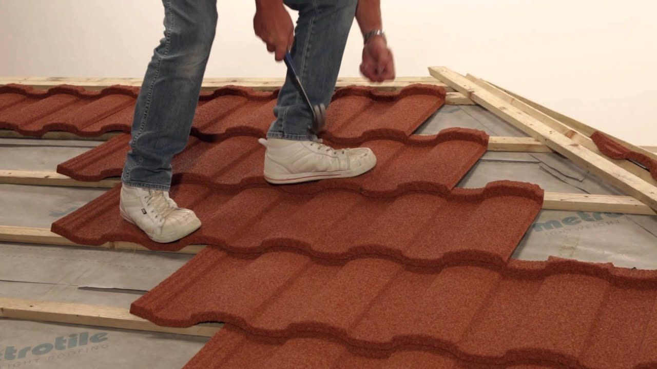 Fixing Installing Lightweight Roofing Tiling Roma Profile Youtube Roofing Tile Installation Installation