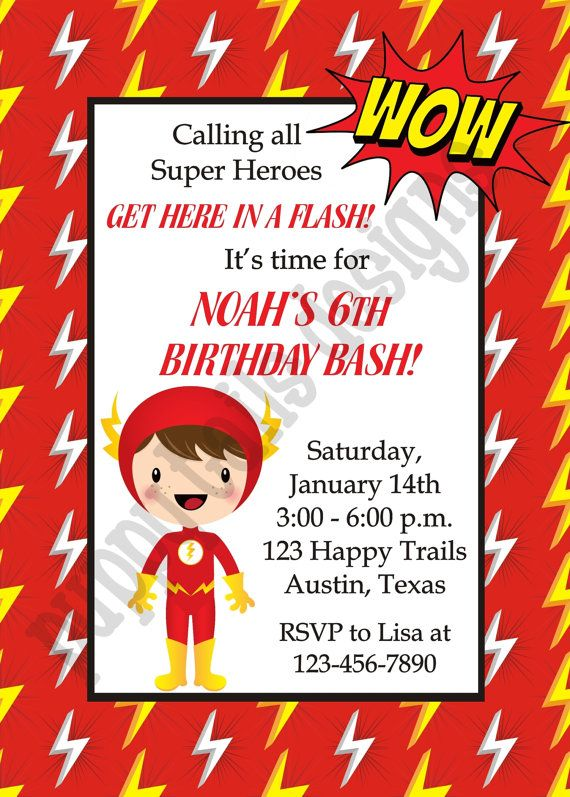Custom printed justice league flash birthday by puppytailsdesigns custom printed justice league flash birthday by puppytailsdesigns bookmarktalkfo Gallery