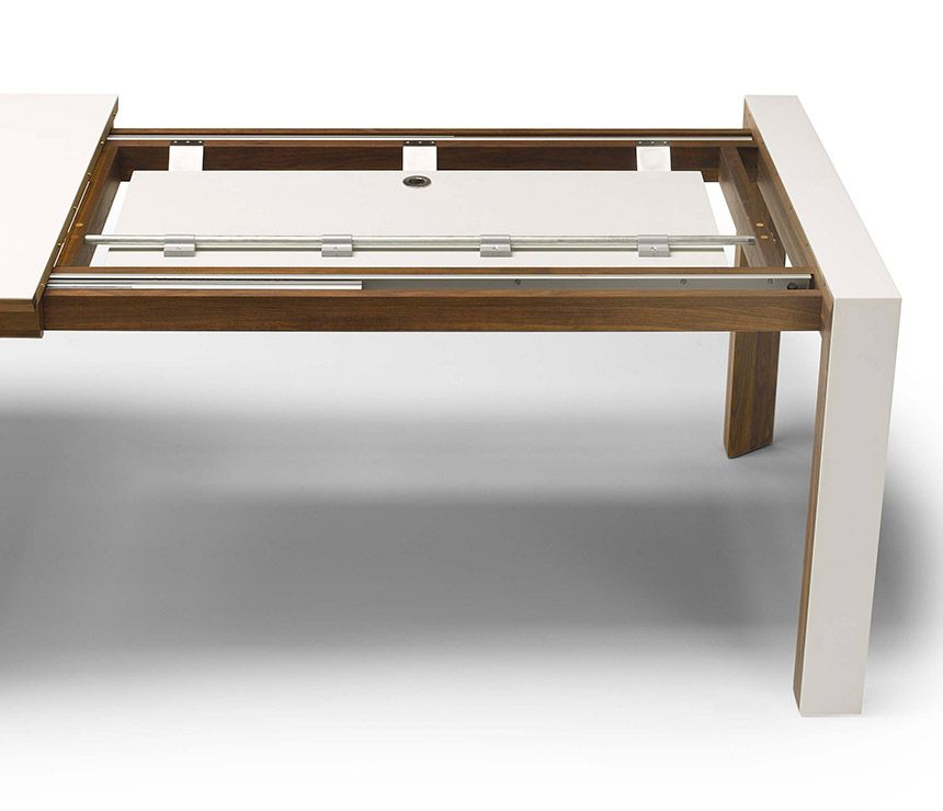Corian modern dining table extension mechanism desk pinterest corian modern dining table extension mechanism watchthetrailerfo