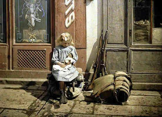 """Pandorama: En el marco del 100 aniversario del comienzo de la Primera Guerra Mundial, se inaugura la exposición """"La Gran Guerra en color. Fotografías"""" en el Centro Cultural Borges"""