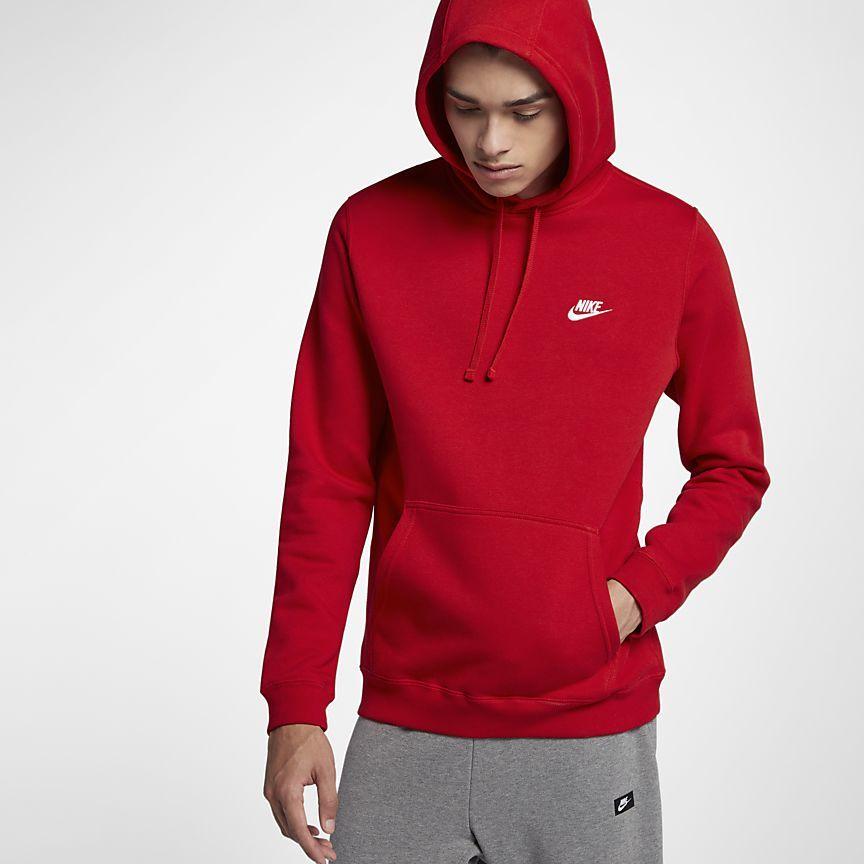 Terapia antecedentes limpiar  Nike Sportswear Club Fleece Men's Hoodie | Hoodies men pullover, Nike  pullover hoodie, Nike sportswear