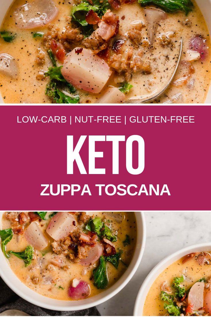 Keto Zuppa Toscana #zuppatoscanasoup