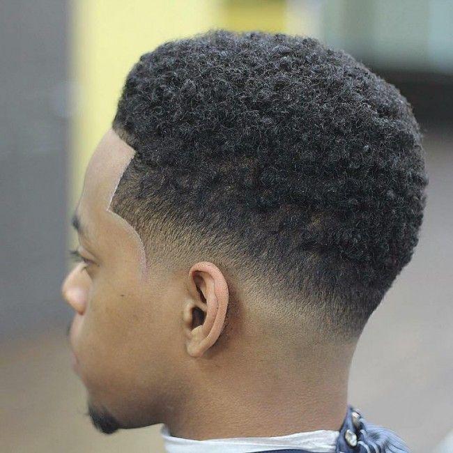 Coupe de cheveux homme noir degrade