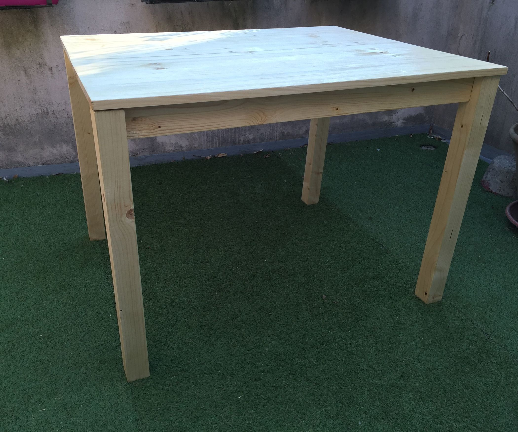 easy outdoor wood table pinterest outdoor wood table wood table