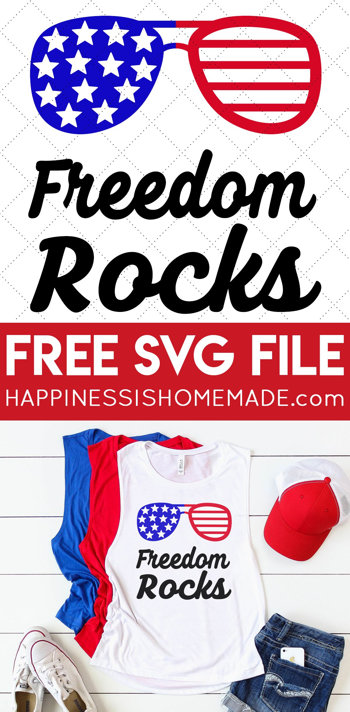 Download FREE 4th of July SVG Files: Get these 16 free 4th of July ...