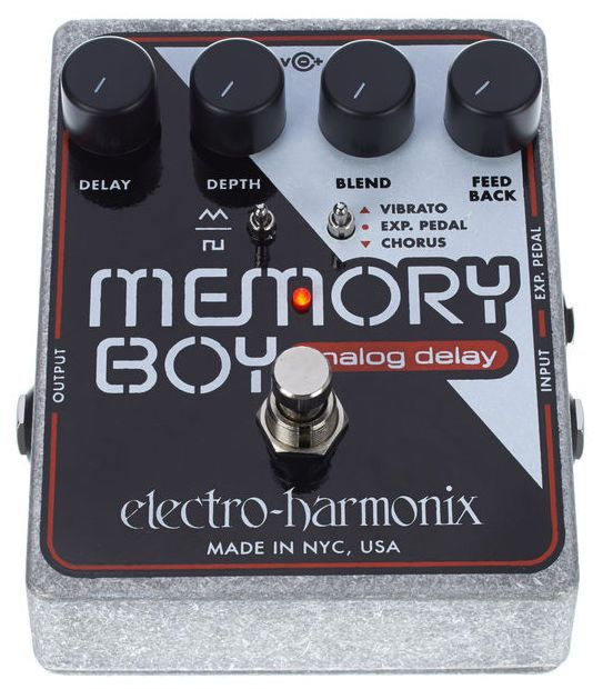 Electro-Harmonix Memory Boy (Delay analógico) | 88 € en Thomann Cyberstore