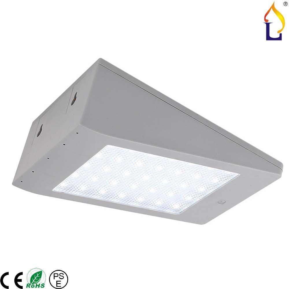 4W Solar Power Wall Mounted Sensor Light 4W LED Lamp Waterproof