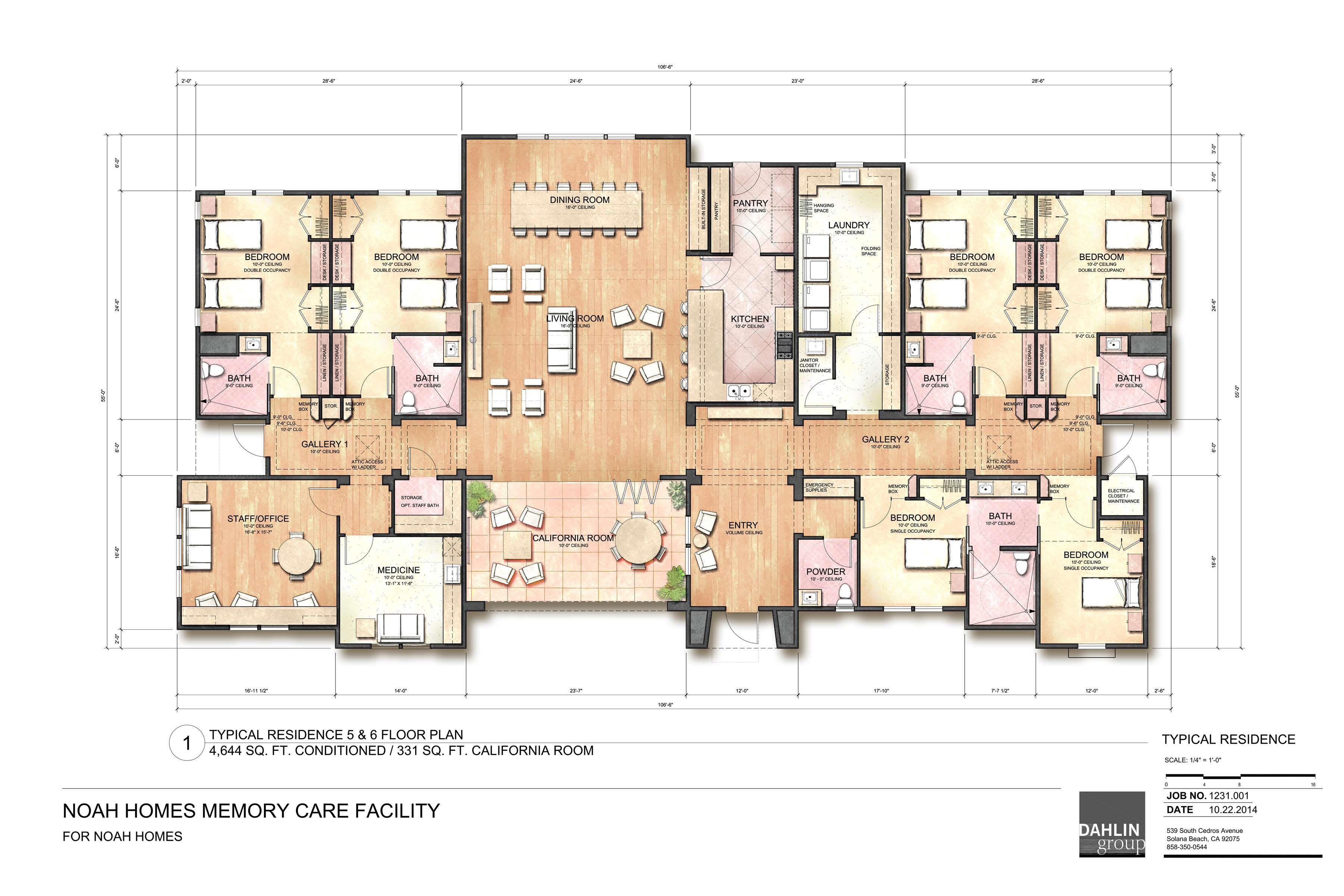 """Image Result For Best Nursing Home Designs Ìš""""양원 ͏‰ë©´ë"""""""