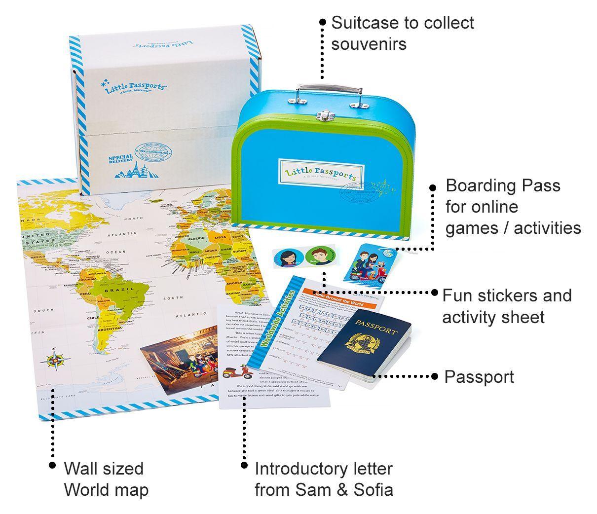 World Edition Subscription Little Passports Subscription Boxes