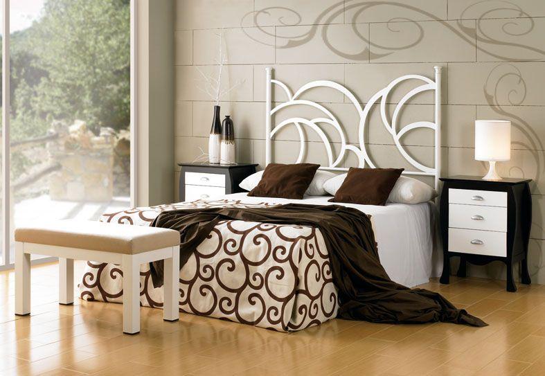 Cabezales de forja modelo sena decoracion beltran tu tienda online especializada en cabeceros - Cabezales de forja ...