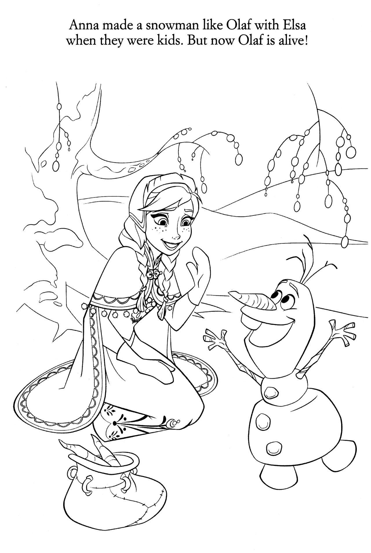 Coloriage La Reine Des Neiges Disney Coloring Pages Princess