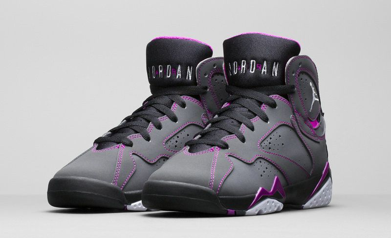best website 06ae6 a14ce Authentic Cheap Air Jordan 7 2017 2018 Daily pink grey black shoe  woAuthentic Cheap Air Jordan retro 7 vii shoe sale 2015