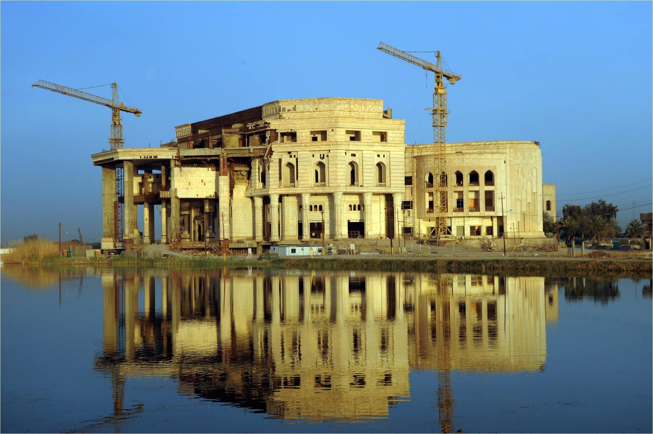 victory over palace iraq baghdad america built never visit