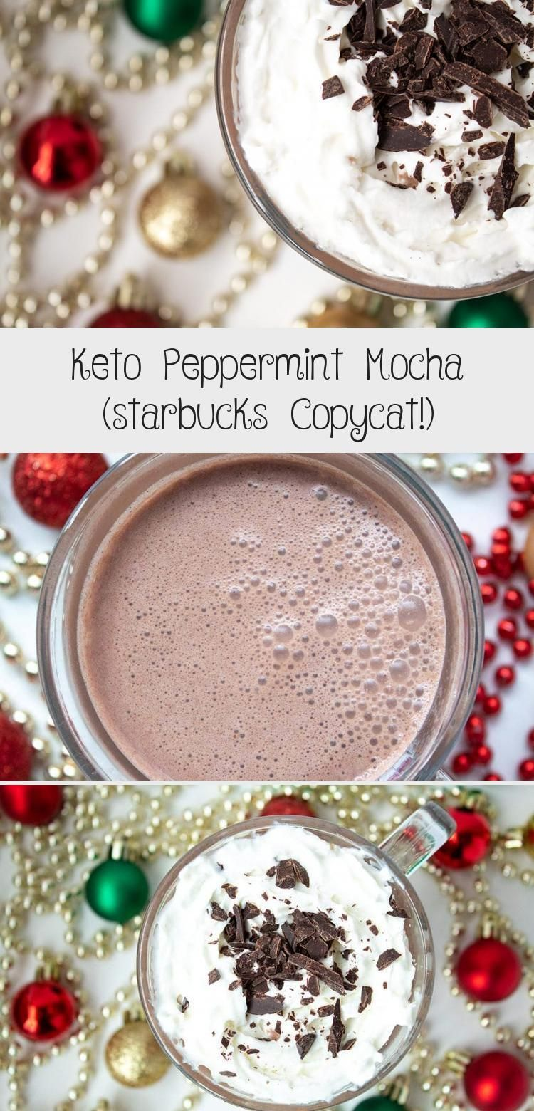 Keto starbucks peppermint mocha copycat recipe this yummy