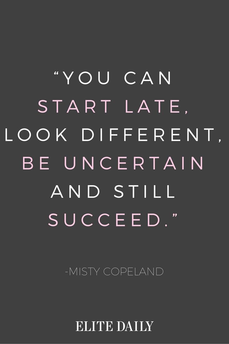 Quotes To Live Your Life By 10 Inspirational Misty Copeland Quotes To Live Your Life.