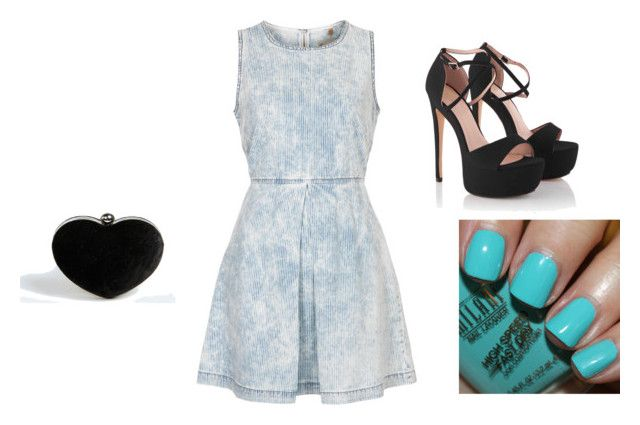 """""""Water"""" by lxvenxtes ❤ liked on Polyvore featuring Topshop and Boohoo"""