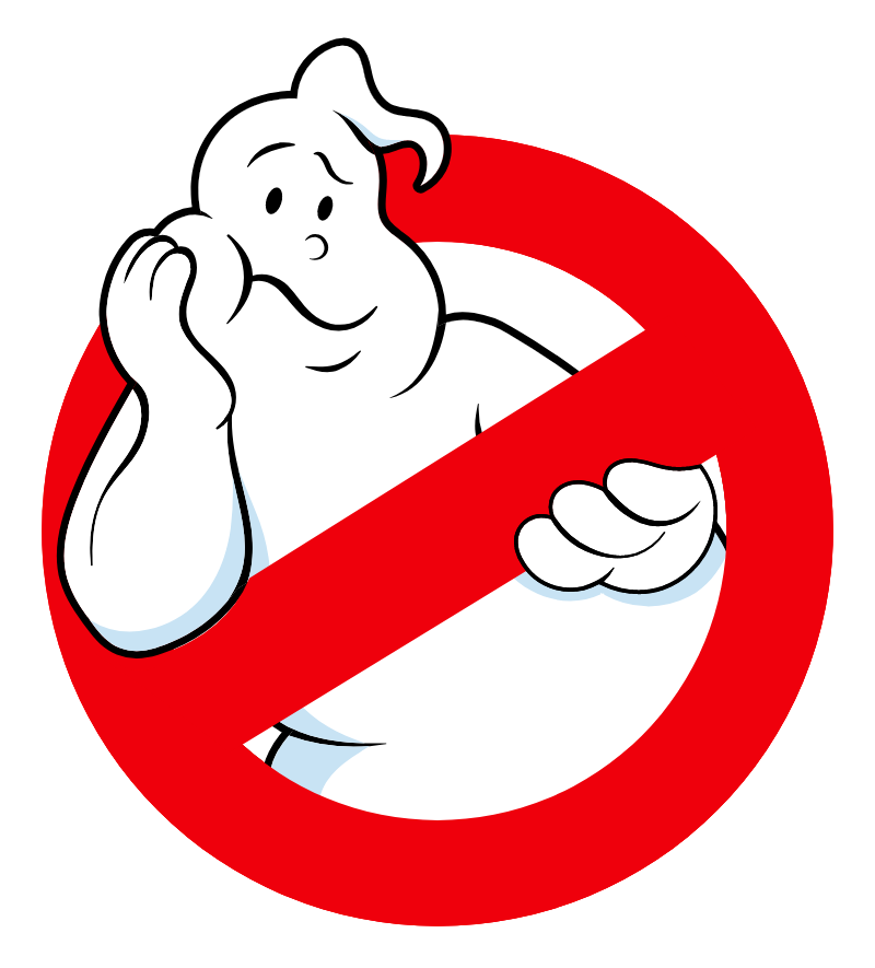 Ghostbusters Logo Bored Ghost Sticker Ghostbusters Logo Ghostbusters Math Wallpaper