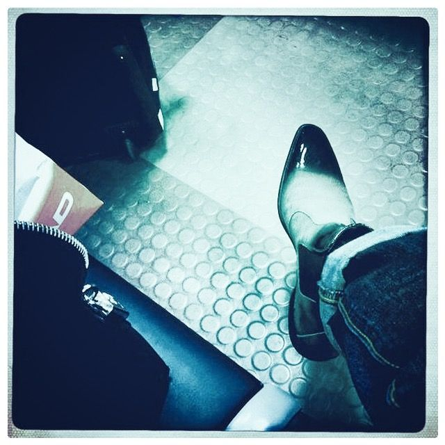 my own shoe tiptoe pic