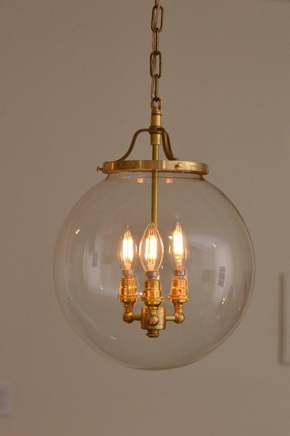 Chandelier Mid Century Br Handmade Lighting Light