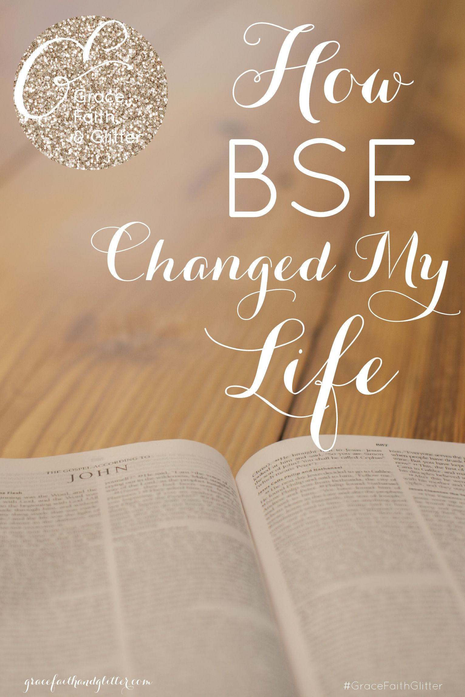 I truly am grateful for BSF in my life! I grew up in the church, but in stepping into my own faith, I needed that guidance into truly understanding God's Word for myself.
