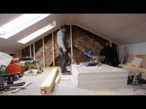 A Loft Conversion in 90 seconds by Topflite Loft Conversions - Interior design ideas #loftconversions