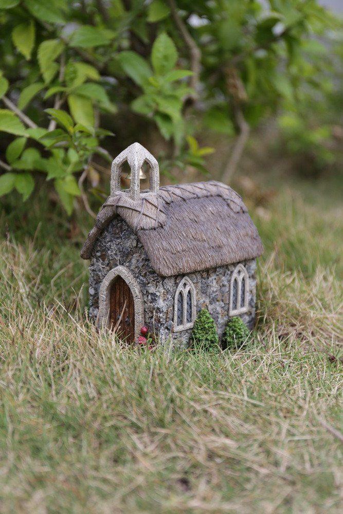 Miniature Dollhouse FAIRY GARDEN Accessories ~ Gray Country School Girl Statue