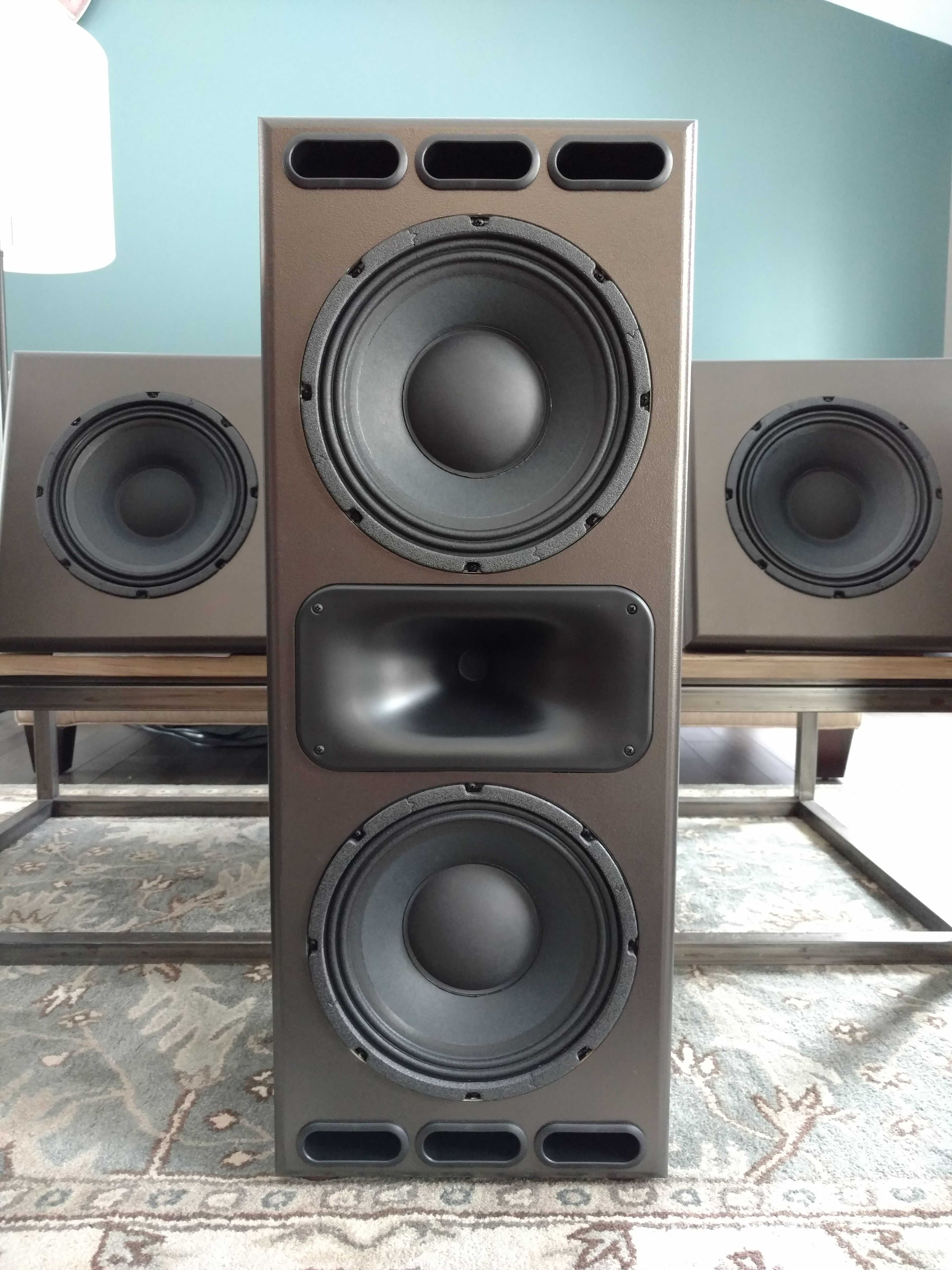 Hand made speakers | Theater Room in 2019 | Hifi audio, Audio design