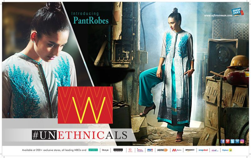 Women S Apparel Ad Design By W In Hello 6e Indigo S Inflight Magazine Click Here To Advertise Magazine Magazine Ads Advertising