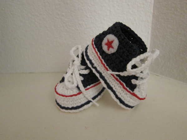 Free Crochet Baby Shoes Pattern | Crochet Stuff | Pinterest ...