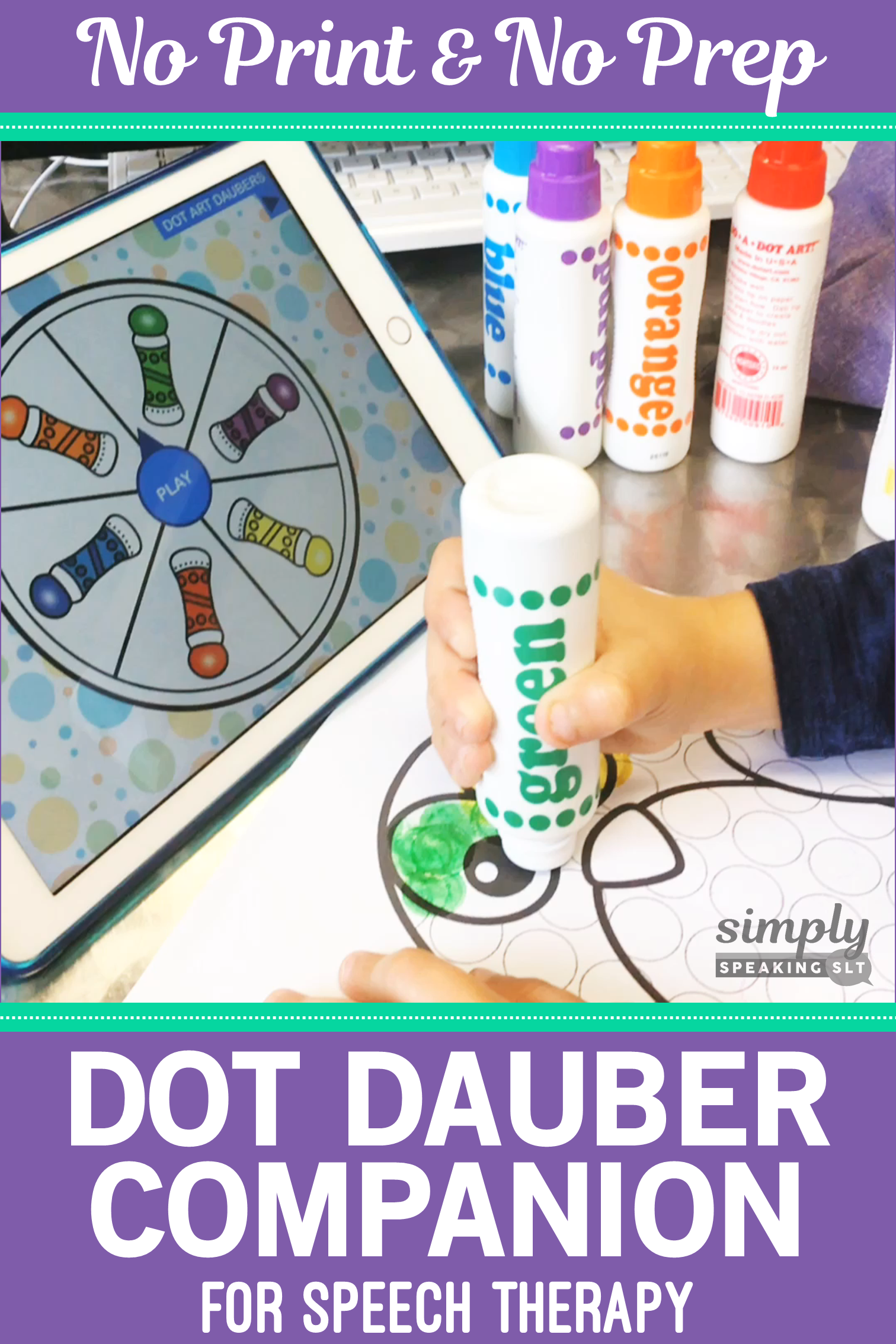 Dot Art Daubers Companion