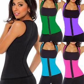 df511964f2 Ultra Sweat Women Body Shaper Neoprene Waist Trainer Vest Sauna Cincher Weight  Loss Girdle Slimming Belt Waist Slim Corset-in Tops from Women s Clothing  ...