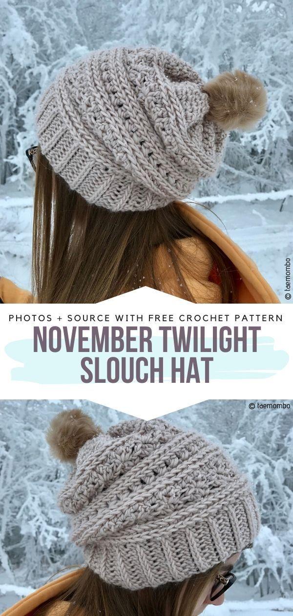 Classy Crochet Beanies Free Patterns