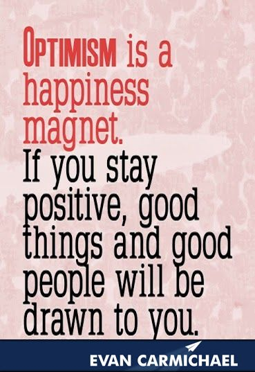 optimism is a happiness magnet - Google Search