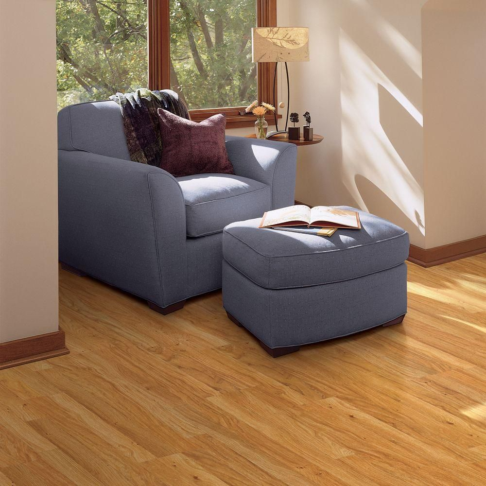 Pergo xp sedona oak 10 mm thick x 7 5 8 in wide x 47 5 8 for Pergo laminate flooring home depot
