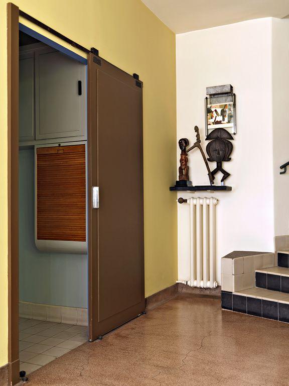 Visite de lu0027hôtel Martel signé Mallet-Stevens Robert mallet - couleur des portes interieur