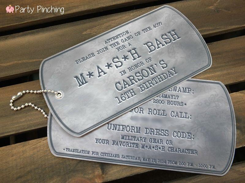 Mash Bash, Mash tv show, Mash television show, Mash theme party ...