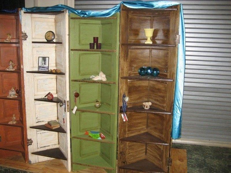Repurposed Door - Display Shelves & Repurposed Door - Display Shelves | Shabby | Pinterest | Repurposed ...