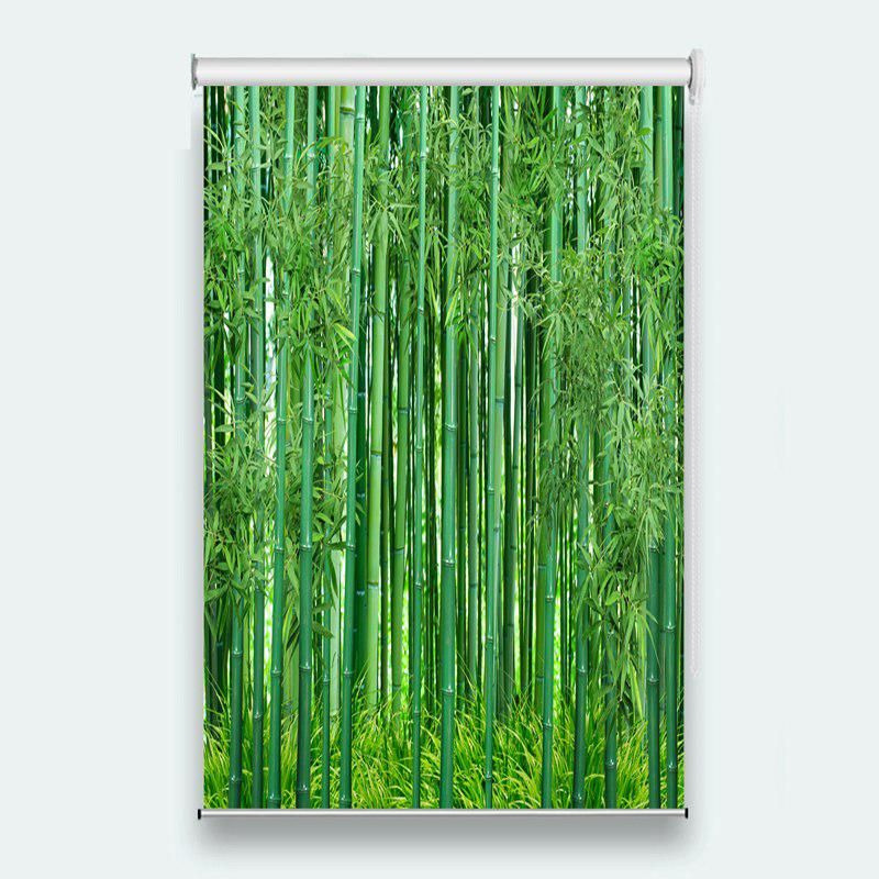 Home Decor Roller Window Curtain Bamboo Photo Blinds For