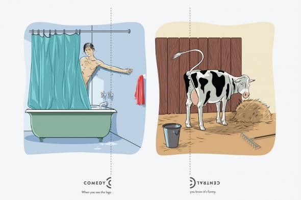 Comedy Central: Logo, Shower