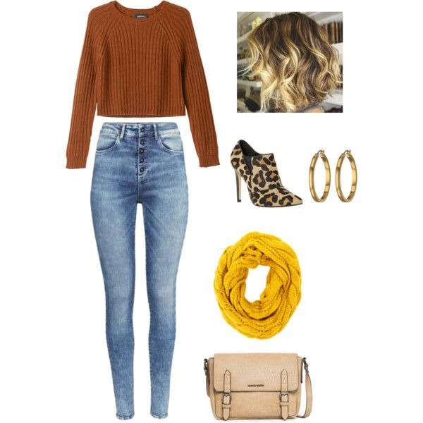 A fashion look from November 2014 featuring Monki sweaters, H&M jeans and Dune ankle booties. Browse and shop related looks.