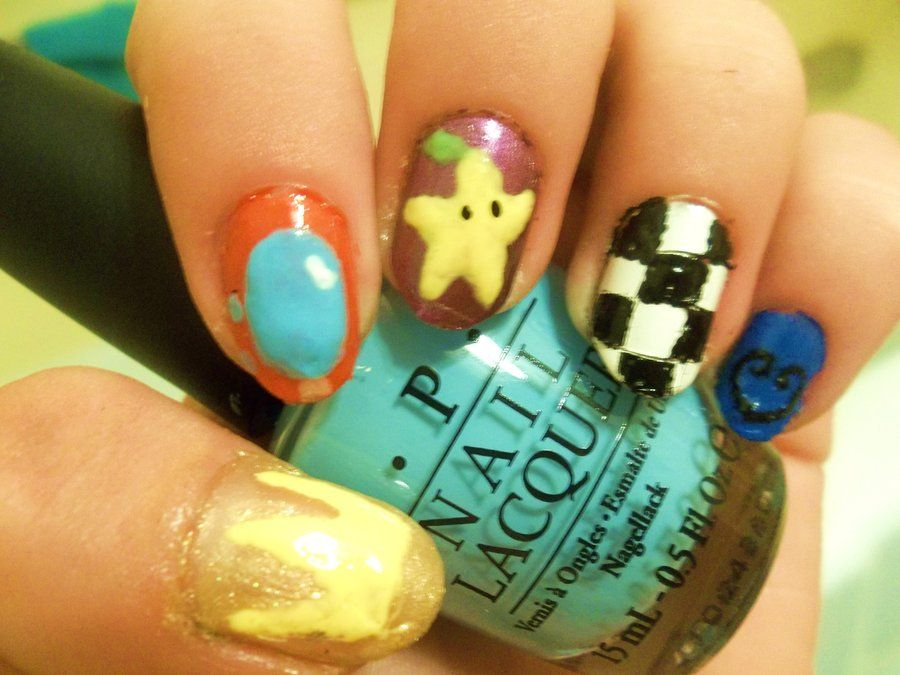 Kingdom Hearts Inspired Nail Art by xXKawaii-PandaXx | Nαιℓ Aят ...