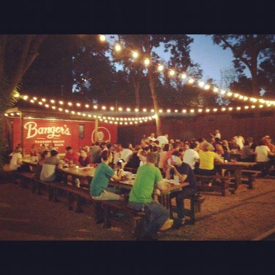 Banger S Sausage House Beer Garden Beer Garden Beer House
