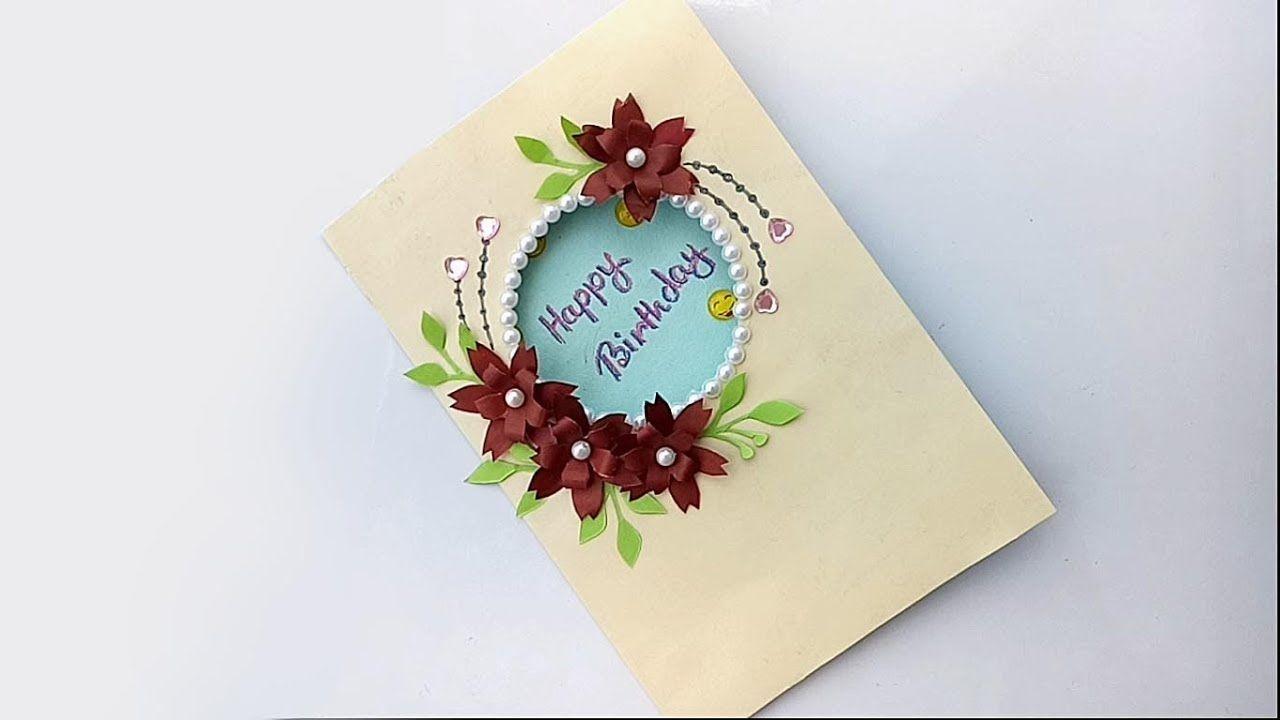 diy beautiful birthday card diy greeting card for diy home