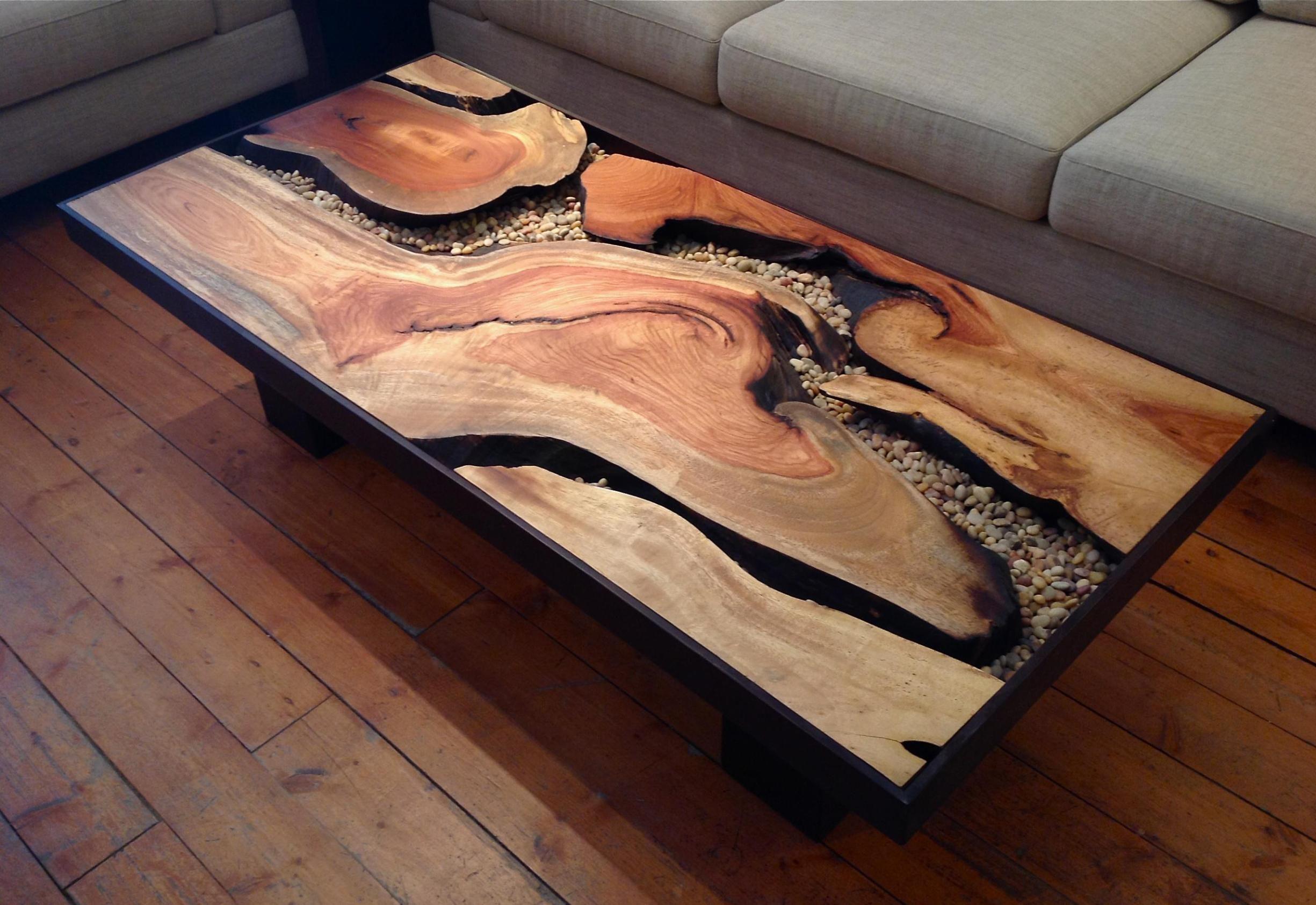 Wood Tree Coffee Table