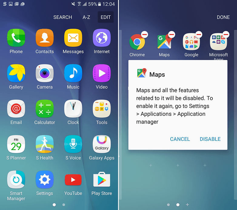 How to uninstall bloatware and preinstalled Android apps