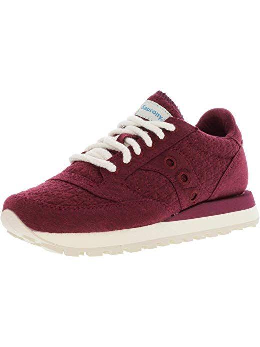 04ad981b0b0b Saucony Jazz Original Athletic Women s Shoes Size 5 Burgundy