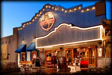 Bubba Gump Shrimp Anaheim California Great Atmosphere And Yummy